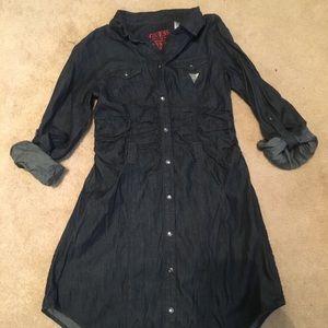 Girls GUESS jean dress